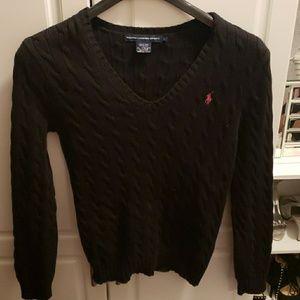 Ralph Lauren Sport black sweater